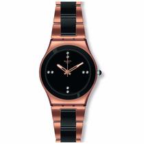 Relógio Swatch Pearl Black Ylg123g