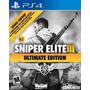 Sniper Elite Iii 3 Ultimate Edition Port Mídia Física Ps4