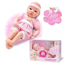 Kit Com 6 Bonecas Bebê Tata Sid Nyl