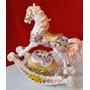 Cavalo Musical À Corda Balança Cavalinho Quarto Criança Bebê