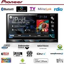 Dvd Player Pioneer Avh-x5780tv + Moldura Triton L200