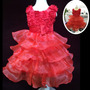 Vestido De Festa Casamento Infantil Importado Pronta Entrega
