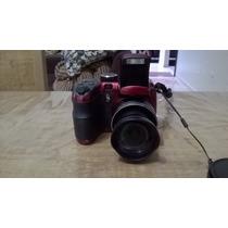 Câmera Fotográfica Digital Ge Modelo: X400 14.1mp Vermelha