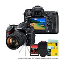 Nikon D7000 18-105+kit 12x S/juros Frete Grátis Mastertronic