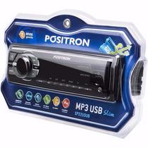 Radio Positron Usb Sd Mp3 Fm Slim Sp2210ub