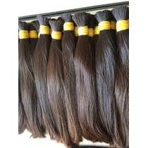 Cabelo Mega Hair Liso Ou Ondulado 100% Natural De 60cm