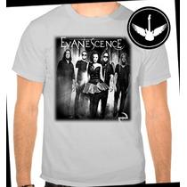 Camiseta E Baby Look Evanescence Amy Lee Banda Rock Camisa