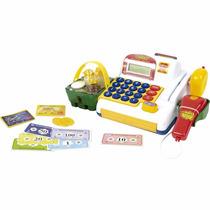 Caixa Registradora Infantil Com Som E Luzes 9708 - Belfix