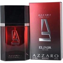 Perfume Masculino Francês Elixir For Men By Azzaro 100ml