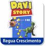 Adesivo Parede Régua Toy Story Personalizado Frete Grátis