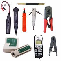 Kit Testador De Cabos De Rede Descascador Zumbidor Spartec