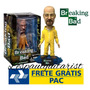 Mezco Breaking Bad Walter White Bobblehead Yellow Suit Novo