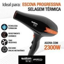 Secador Prof 2300w 220v Power Tourmaline Íon Salon Line