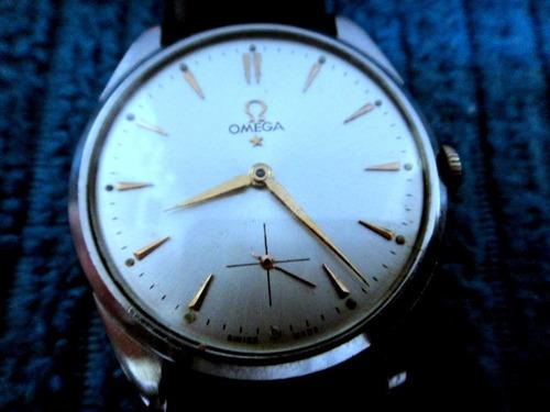 5868770d69e Relógio Omega De Aço Fabricado Em 1945 A Corda Perfeito Show