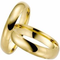 Par Alianças Ouro 18k 750 Valor Do Casamento 12x S/juros