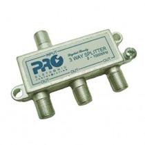 Divisor 1:3 Catv 1 Ghz 130 Db Proeletronic Pqdv-1023