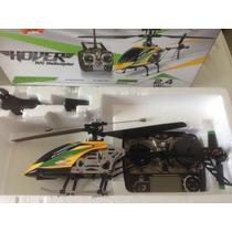Helicóptero V912 Sem Câmera. Novo Na Caixa Original.