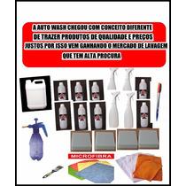 Super Kit Ecolavagem Auto Wash - (200 Lavagens A Seco