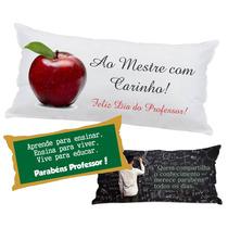 50 Almofadas Travesseiro Lembrancinha 40x20 Dia Do Professor