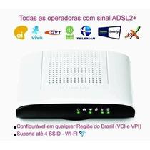 Modem Roteador Wifi Technicolor Td 5136 V2 Kit Oi Velox