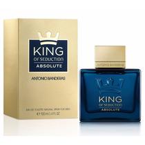 Antonio Banderas King Of Seduction Absolute 100ml Masculino
