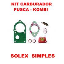 Kit Carburador Fusca/brasilia/kombi Solex Simples