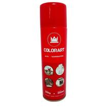 Tinta Spray Alta Temperatura Vermelho - 600 C 10 Latas Spray