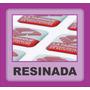Adesivo Etiqueta Resinada Personalizada 5 Folhas