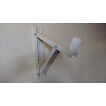 Suporte Caixa Som Inclinação Articulado 25 Kg Branco.
