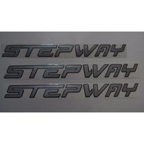 Adesivos Stepway Laterais + Mala Renault Sandero 12/...- Bre