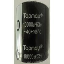 Capacitor Eletrolítico 10000uf/63v -105°c- 10000/63