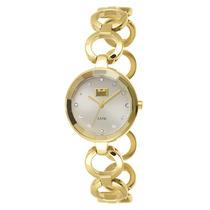 Relógio Dumont Feminino Dourado Du2035lmp/4k