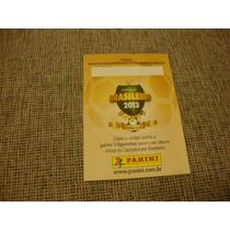 Figurinha Album Campeonato Brasileiro 2013 Erro De Impressao