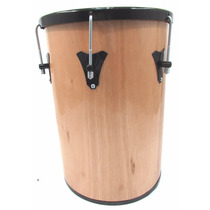 Tantan 70x14 Madeira - Pele Animal - Forte Musica