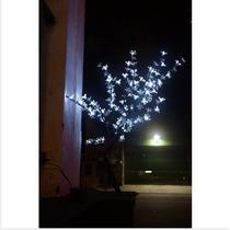 Arvore De Natal Cerejeira Multicolor Branca 144 Led Linda