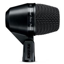 Microfone Para Bumbo Shure Dinâmico Pga52 Com Cabo Xlr