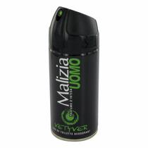 Desodorante Malizia Uomo Vetyver 150 Ml - Importado Italia