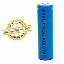 Pilha Aa 14500 Recarregável 5800mah Bateria 3.7v