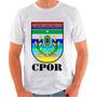 Camiseta Cpor Exército Quartel Santana Poliester