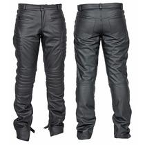 Calça De Couro Tipo Jeans, Motociclismo E Casual Cl02