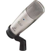 Microfone Estudio C 1 U Condensador C-1u Behringer C1u Usb