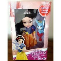 Boneca Princesa Branca De Neve Disney 35cm Frete Grátis