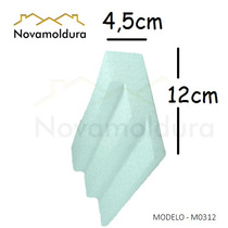 Moldura Teto Isopor Substitui O Gesso Eps Facil M0312