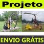 Kit Projeto Paraglider + Projeto Girocóptero + Brinde