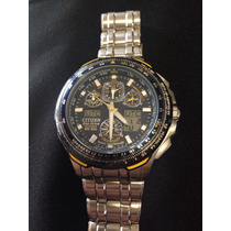 Relógio Citizen Blue Angels Skyhawk Jy0040 59l