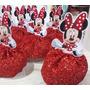 50 Festa Minie Mickey Mouse Bustos Para Tubete 7,5cm