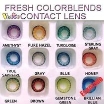 Olhos Cosplay -lens Cores Naturais- Pronta Entrega