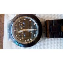 Relógio Suíço - Swatch Blooded Black Irony