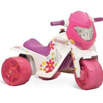 Motocicleta Infantil Ban Moto Gatinha Eletrica Bandeirante