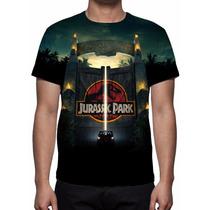 Camisa, Camiseta Filme Jurassic Park - Estampa Total